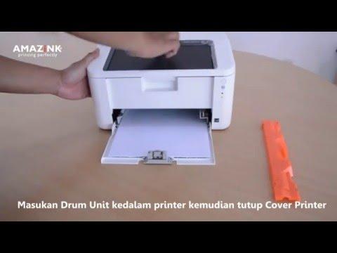 Cara Memasang Cartridge Toner Fuji Xerox P115W | AMAZiNKPRINT COM