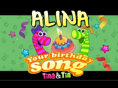Tina & Tin Happy Birthday ALINA (Personalized Songs For Kids) #PersonalizedSongs