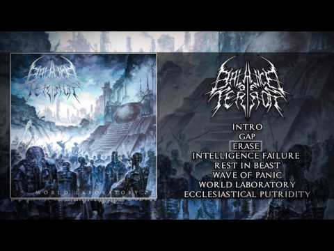 BALANCE OF TERROR - WORLD LABORATORY (OFFICIAL ALBUM PREMIER