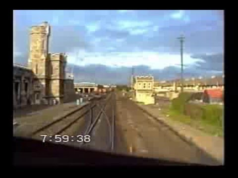 Cab Ride. Heuston to Athlone Galway Mail. 071 Class locomotive