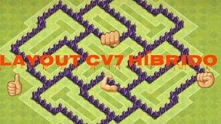 Layout CV7 Híbrido