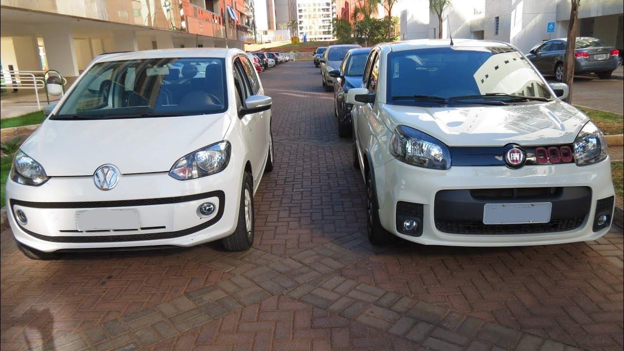 Fiat Uno Dualogic x Volkswagen up! I-Motion - comparativo - www car blog br