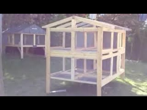 Canadian Rabbit Hutch 4hole Part One Youtube