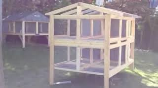 Canadian Rabbit Hutch - 4hole - Part One