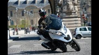 Bike and scooters- popular in french cities