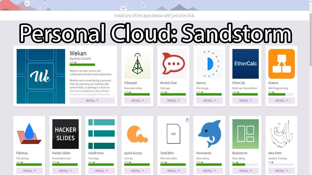 Your Linux Server: Sandstorm 002