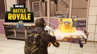 """""""Search 7 Chests in a Single Match"""" Easy Location - Fortnite // Season 4 Week 8 Challenges"""