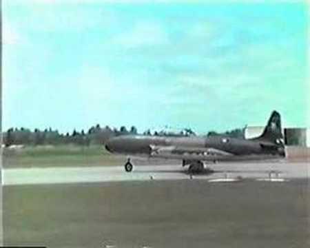 Lockheed T-33 FAU Ejercicio de Tiro en La Carolina Durazno