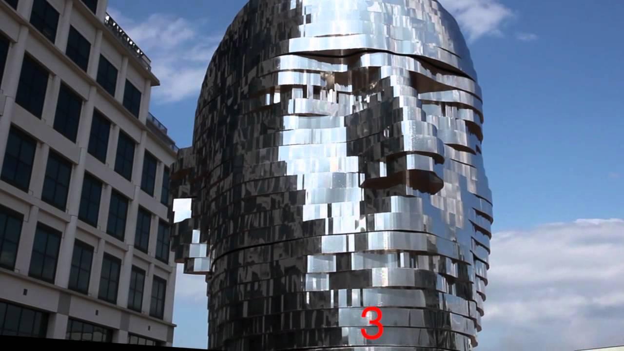 astounding 39 metalmorphosis 39 statue fountain charlotte nc youtube. Black Bedroom Furniture Sets. Home Design Ideas