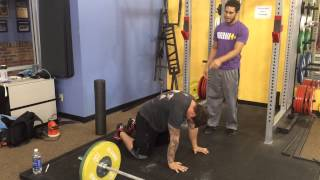 Just the Tip Tuesday- Prep for Overhead Positions
