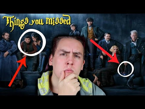 Thumbnail: THINGS YOU MISSED IN THE FANTASTIC BEASTS 2 FIRST LOOK!