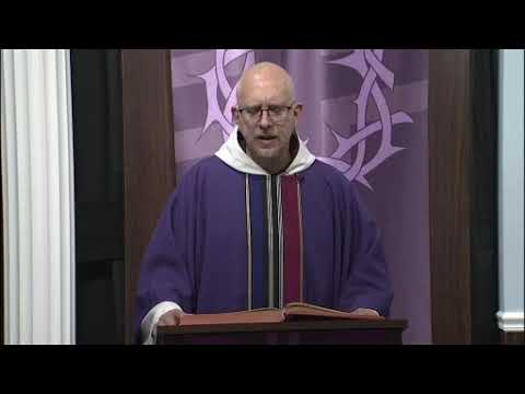 TV Mass Homily 2020 03 22