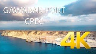 Gwadar Port (SEPTEMBER 2018) - CPEC - 4K Ultra HD - Karachi Street View