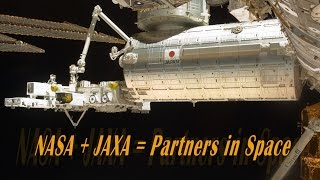 NASA + JAXA = Partners in Space