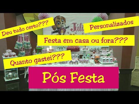 PATRULHA CANINA - #JULIAFEZ4 - PÓS FESTA PARTE 2 - Taisa Alves