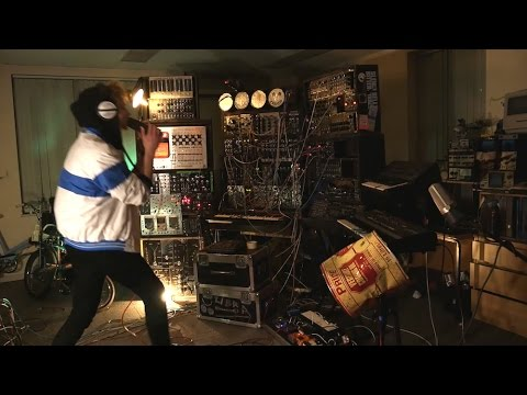 #ModularSynth Live Jam, with live looping  video modular synth