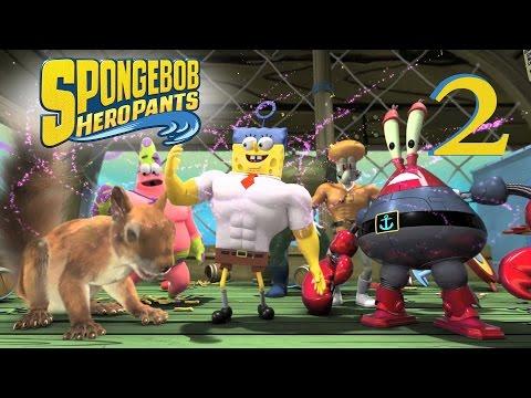 Губка Боб 3D Геройские Штаны Spongebob Hero Pants Игра 2015