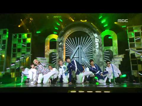 음악중심 - AA - So Crazy 더블에이 - 미쳐서 그래 Music Core 20111119