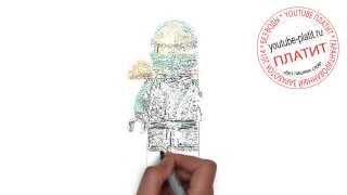 Как рисовать лего человека видео(ЛЕГО. Как правильно нарисовать человека лего героя поэтапно. На самом деле легко http://youtu.be/86ak2P1Pc88 Однако..., 2014-09-05T07:02:57.000Z)