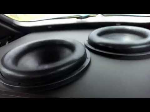 Glenn's Hyundai Excel - 2 Sundown Audio X15s & DD M3A - 146db+ 31Hz
