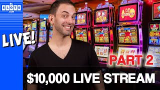 🔴LIVE $10,000 Casino Live Stream in Vegas ✪ BCSlots - PART 2