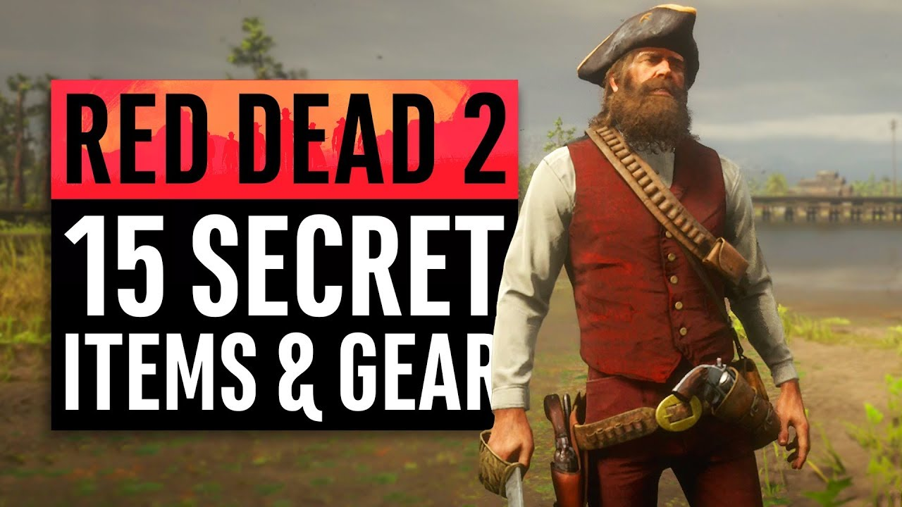 Red Dead Redemption 2 15 Secret Items And Unique Gear Youtube