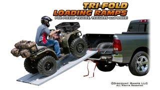 Tri-fold Pickup Truck Ramps