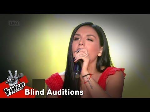 Ιουλία Καλλιμάνη - Μακριά μου να φύγεις | 11o Blind Audition | The Voice of Greece