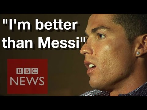 Get Cristiano Ronaldo: I am better than Lionel Messi  - BBC News Screenshots