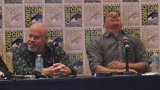 The Book of Life Press Conference - Comic-Con 2014 (Channing Tatum, Ron Perlman)