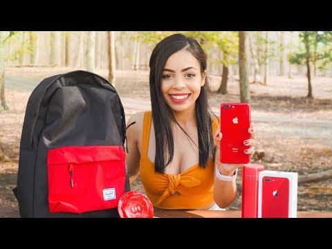 RED iPhone 8 Unboxing & Accessories!