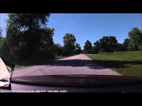 Drive thru Route 66 State Park, formerly Times Beach MO
