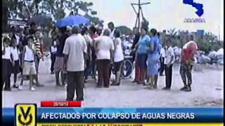 En Aragua denuncian colapso de aguas negras