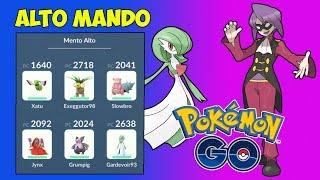 TEAM MENTO! - ALTO MANDO DE JOTHO [Pokémon GO-davidpetit]