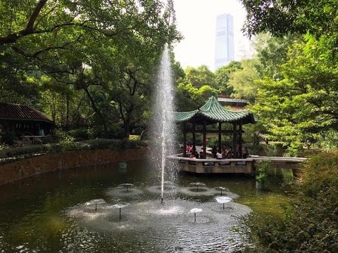 A Walk Around Kowloon Park Hong Kong