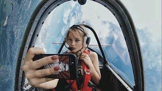 видео полет на воздушном шаре