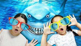 수지와 엄마 마법의 선글라스 장난감 놀이 Suji fu…