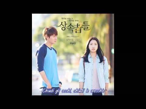 Changmin (2AM) - Love is the Moment (The Heirs OST) [SUB ITA]