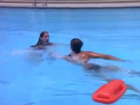 Baywatch S03E04   Stephanie Holden Alexandra Paul drowns Matt Brody David Charvet
