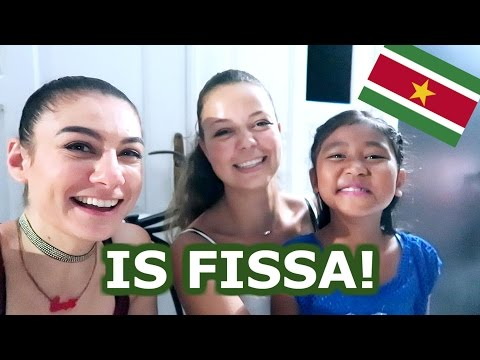 PARTY IN PARAMARIBO - TRAVEL VLOG 425 SURINAM | TRAVEL VLOG