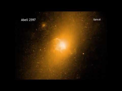 Zoom sur une fontaine galactique, Abell 2597