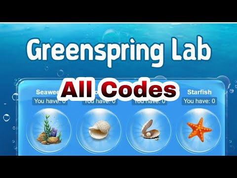Greenspring Lab | ALL Codes Are Here😅😅😅 | Go And Claim | Castle Clash