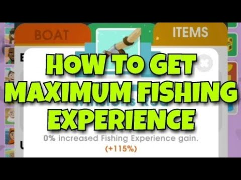 How To Get MAX FISH XP | Hooked Inc
