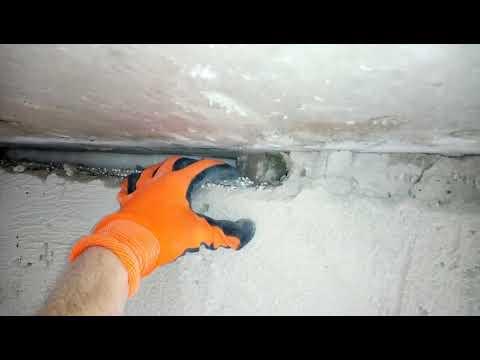 Как утеплить швы в панельном доме изнутри своими руками