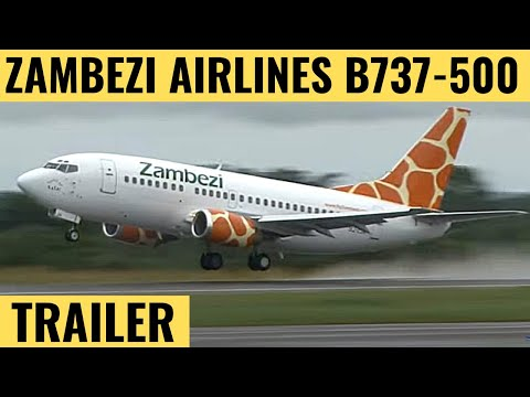 Zambezi B737-500 - Cockpit Video - Flightdeck Action - Flights In The Cockpit