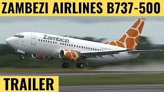 Zambezi B737-500 - Cockpit Video - Flightdeck Action - Flights In The Cockpit