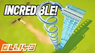 WORLDS BIGGEST LOG FLUME EXPERIMENT!? (Planet Coaster Gameplay)