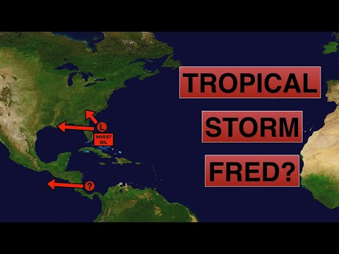 Will Tropical Storm Fred form today, tomorrow or not at all?   Deciphering Weather