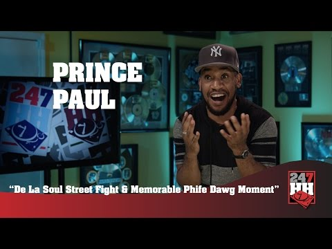 Prince Paul - De La Soul Street Fight & Memorable Phife Dawg Moment (247HH EXCLUSIVE)