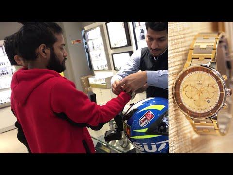 Buying The King's Watch | Titan Grandmaster Collection | Vlog 1# | Man Bun Rider